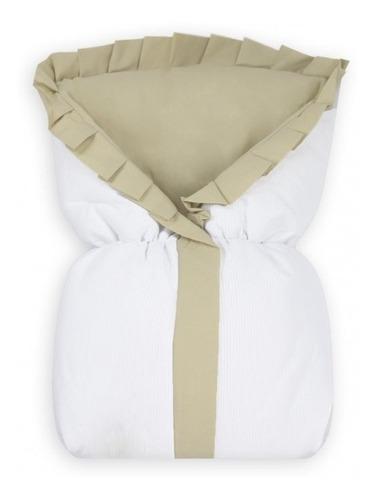 saco de dormir com zíper bebê algodão thed cáqui