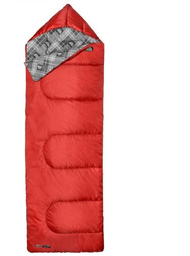 saco de dormir couple rojo doite