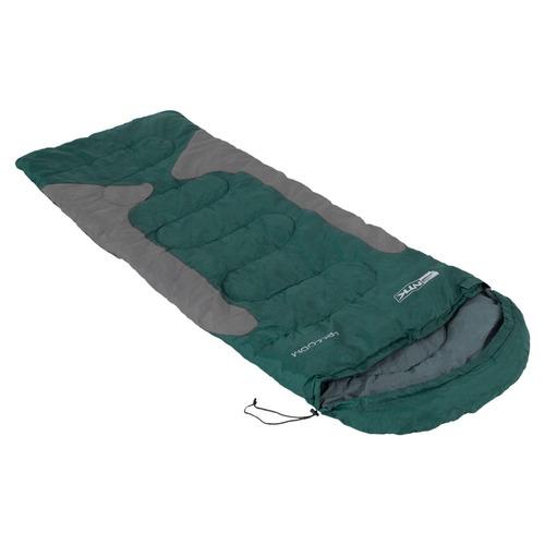 saco de dormir freedom ntk verde e cinza