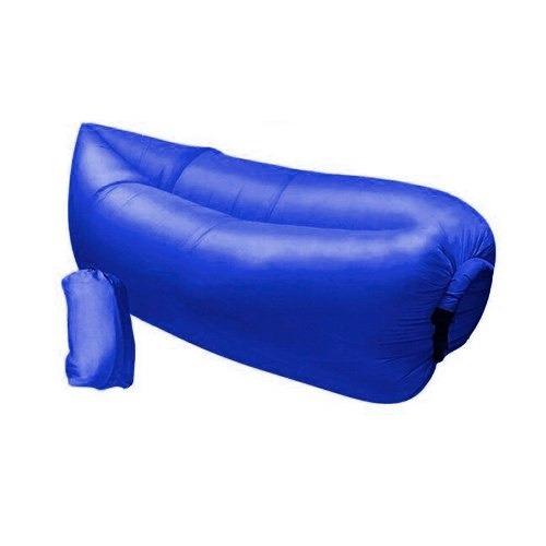 saco de dormir inflável puff sofá acampamento praia laybag