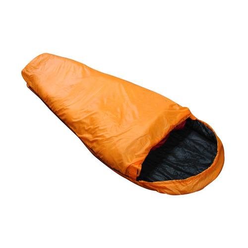 saco de dormir micron ntk preto e laranja