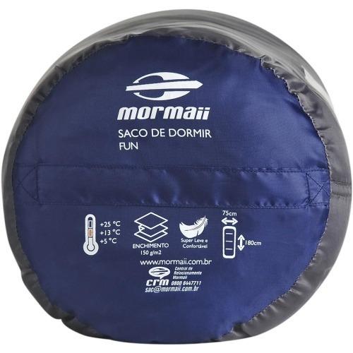 saco de dormir mormaii concha 3 r + isolante termico