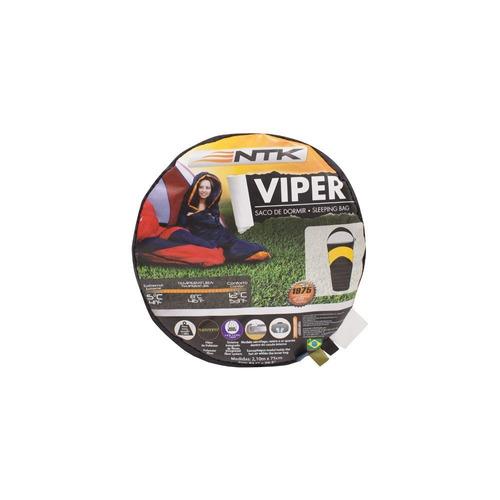 saco de dormir ntk nautika viper 5ºc a 12ºc hollowfiber 2m