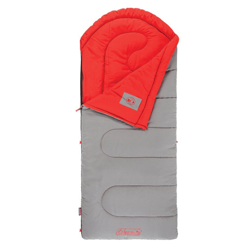 saco de dormir para camping dexter point coleman com zipplow