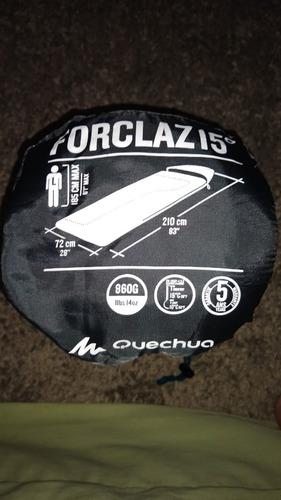 saco de dormir quechua 15º  novo