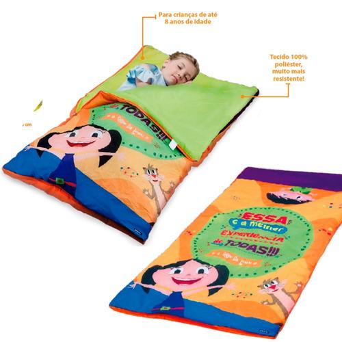 saco de dormir  show da luna infantil toys c/ bolsa zippy