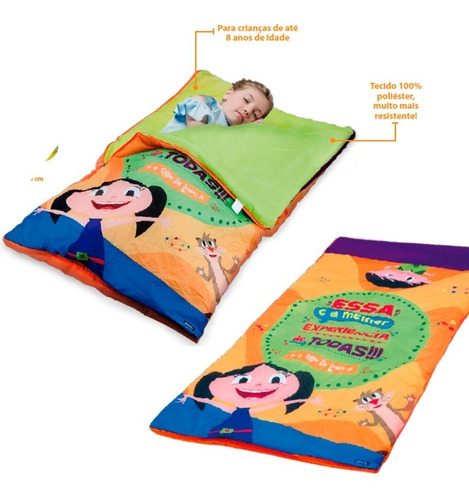 saco de dormir show da luna original unissex infantil zippy