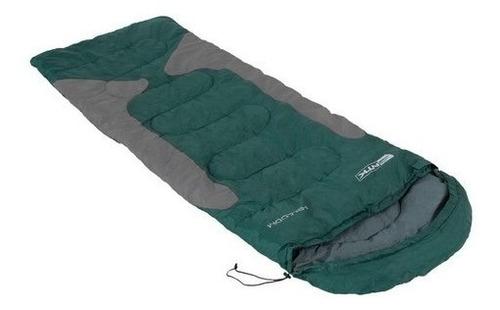 saco de dormir térmico ntk freedom verde + isolante térmico