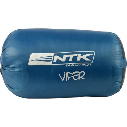 saco de dormir viper azul nautika acampamento de 5ºc à 12ºc