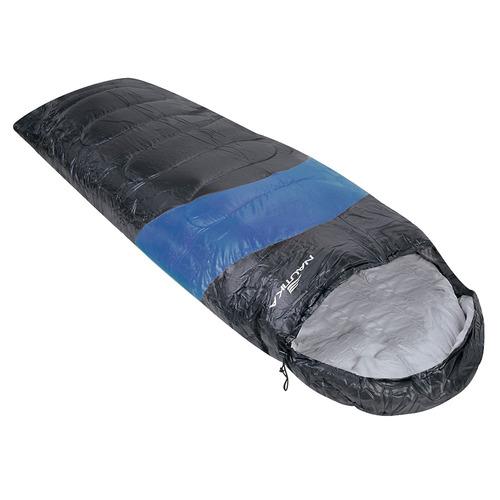 saco de dormir viper nautika c/ capuz e saco transporte azul