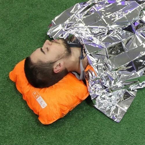 saco de dormir viper nautika com capus + tavesseiro ntk
