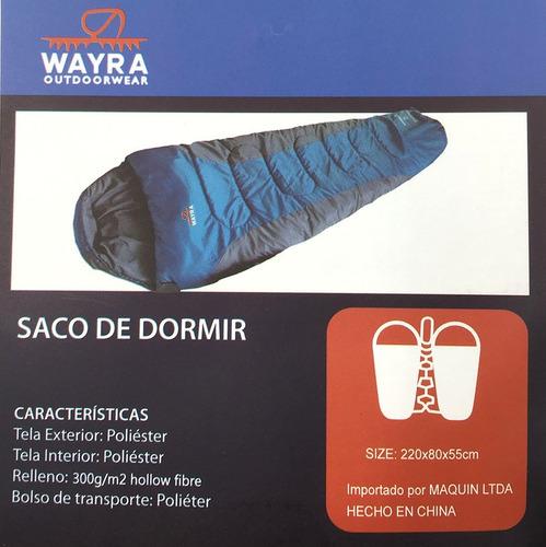 saco de dormir wayra -15° +10°