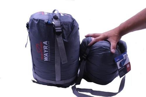 saco de dormir wayra -15° +10° oferta x 2 unidades