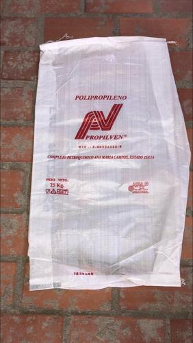 saco de escombro de plastico laminado saco leer descripcion