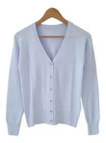 Saco De Hilo Y Lycra , Saquitos Sweaters Uniformes De Mujer