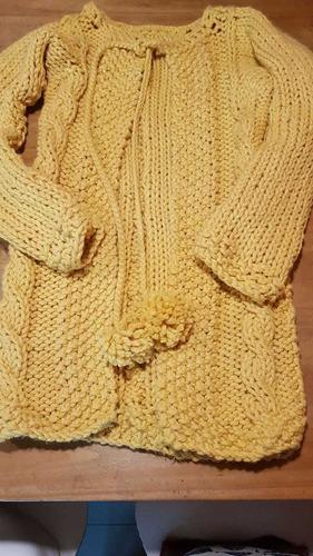 saco de lana largo
