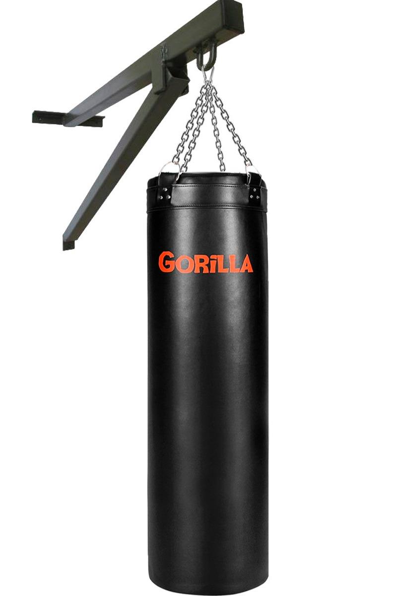 a6364751a saco de pancada 100x90 + suporte parede - gorilla. Carregando zoom.
