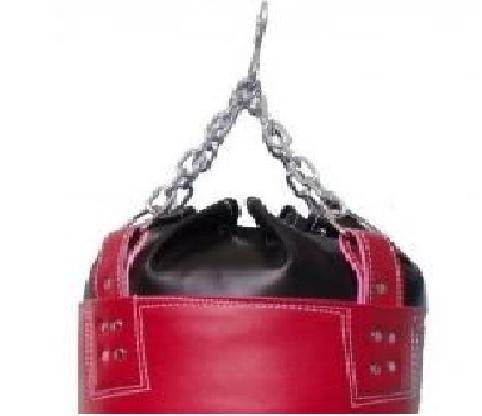 saco de pancada 90cm c/ corrente reforçado c/enchimento boxe