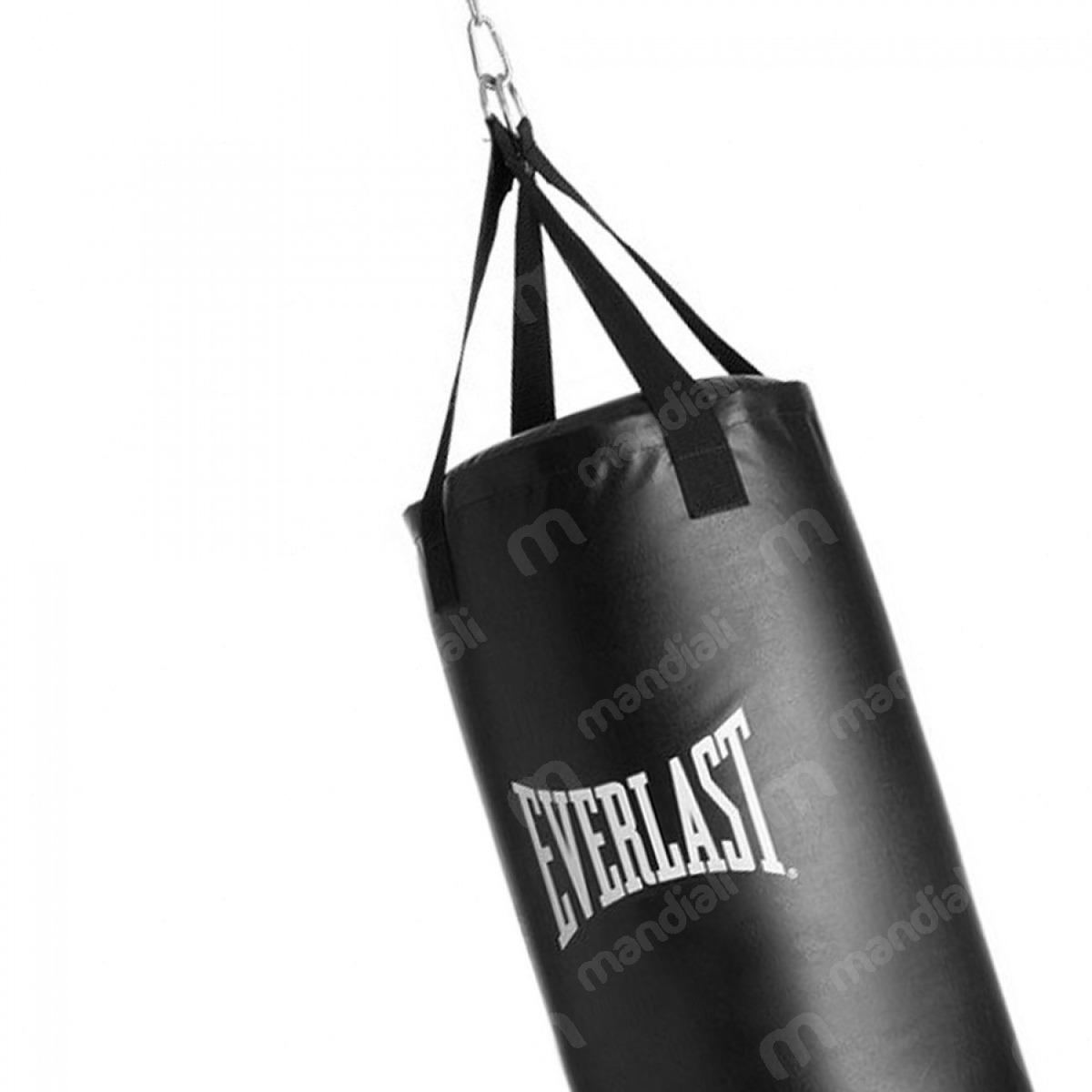 0d84ff81c saco de pancadas 18kg preto everlast com mosquetão e girador. Carregando  zoom.