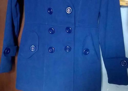 saco de vestir dama azulino moderno talla s