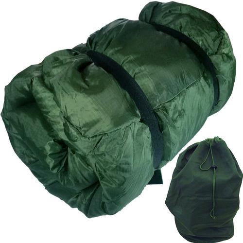 saco dormir termico militar camping com saco grande exército