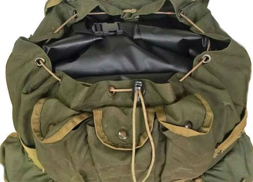 saco estanque militar grande impermeável mochila operacional