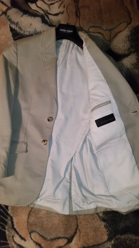 saco formal de vestir enzo gazzani