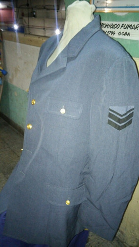 saco fuerza aerea argentina talle 58