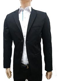 e9527f038de Saco Gabardina Hombre Blazer Entallado Slim Vs Colores,local