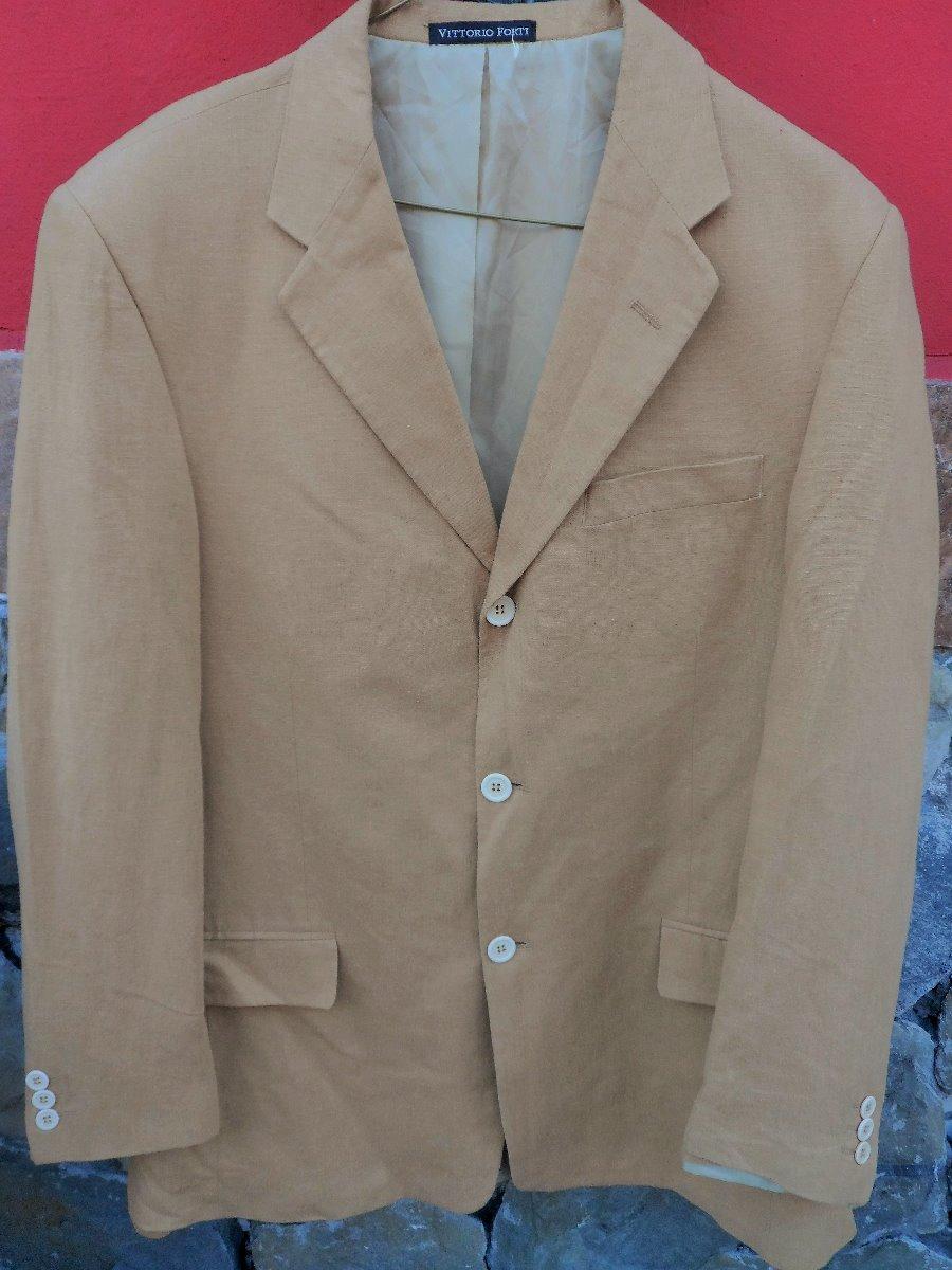 da74b4de10531 Saco Italiano Marca Vittorio Forti Talla 42r -   700.00 en Mercado Libre