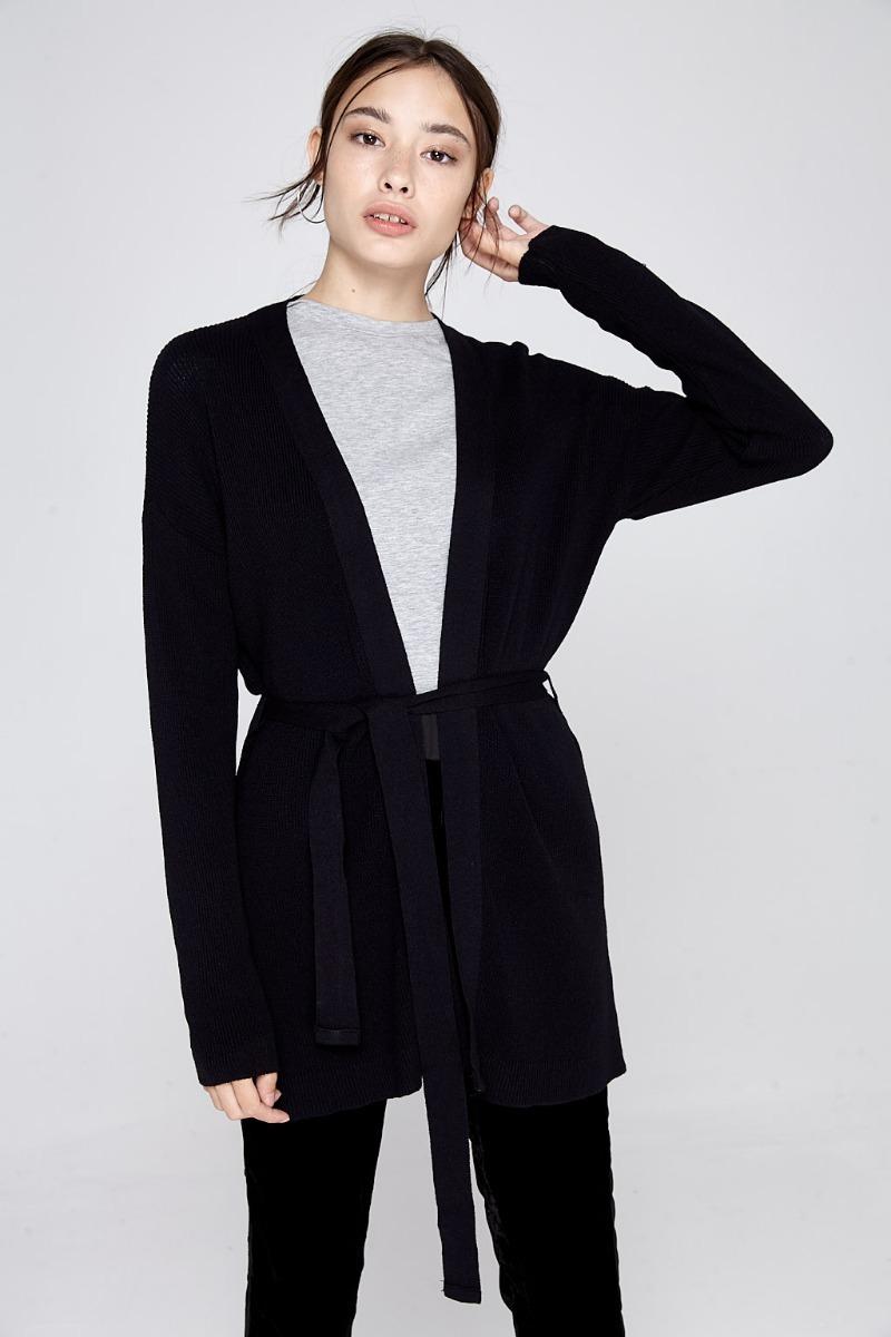 599 Moda Liviano Abrigo 2018 Saco 89 Mujer Sweater Cinto Largo nACqw8a4Ux ca68c43674b7