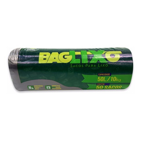 Saco Lixo Reforçado 50 L 10 Kg - 63 Cm X 80 Cm 1 Und