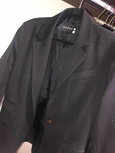 saco negro ivonne