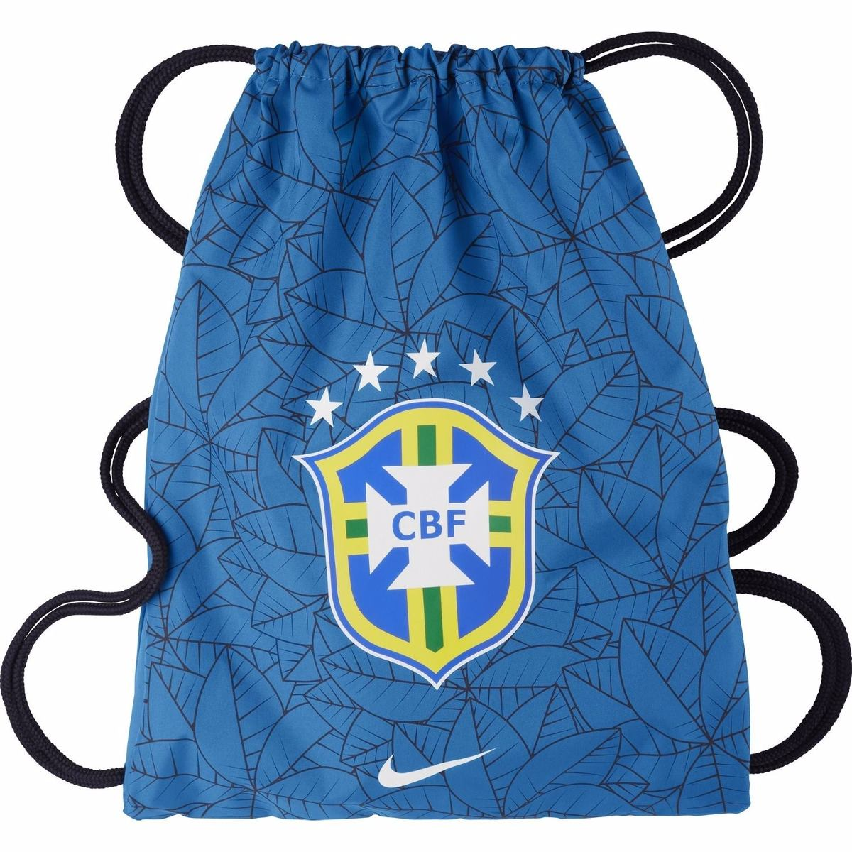 saco nike seleção brasil cbf brasileira sacola bolsa mochila. Carregando  zoom. ac47c6de0b50b