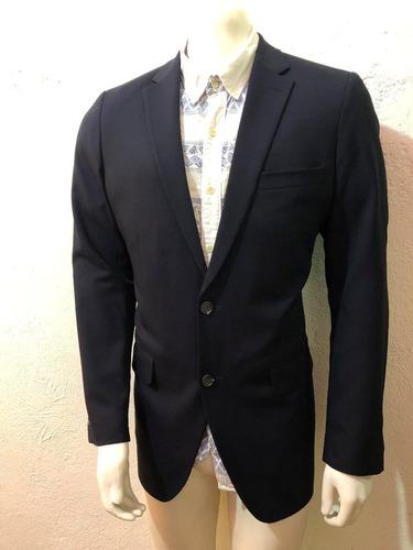saco o blazer haggar® tailored fit azul marino talla 40l