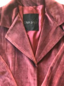 Saco Rosa Y Cremita De Zara Mujer M Estilochanel Ss