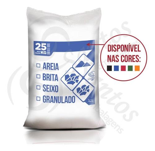 saco p/ areia brita seixo granulado c200 24m
