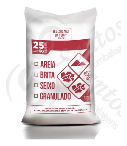 saco p/ areia brita seixo granulado c500 18m personalizado
