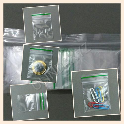 saco para bijout ziplock - com ziper - kit com 200 unidades