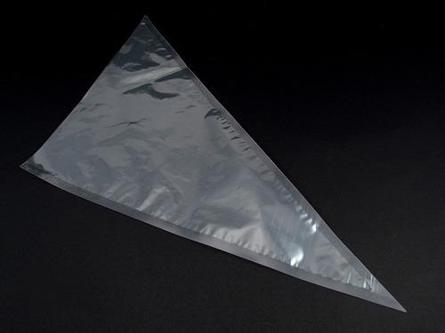 saco para confeitar descartável - médio (kit com 10unidades)