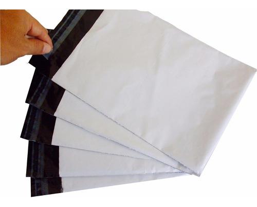saco plástico de segurança com lacre tipo sedex 100x60 100un