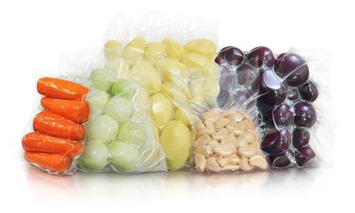 saco plástico para embalar a vácuo 15x20 100 unidades liso sem ranhuras