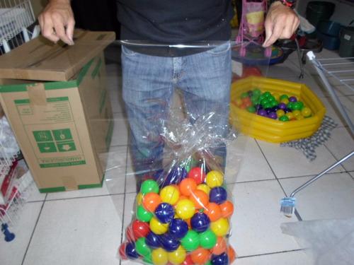saco plástico pp totalmente transparente 26x40 - 1kg