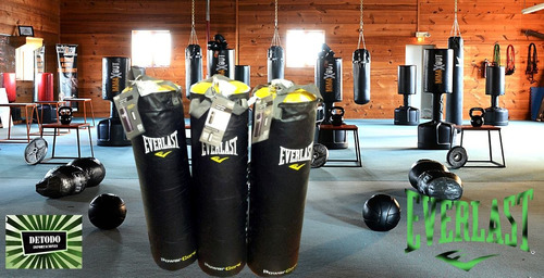 saco power core 100lb everlast boxeo, mma, kick boxing