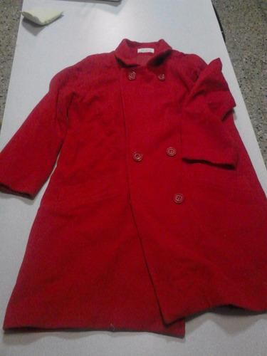 saco rojo talle 3 vintage excelente estado