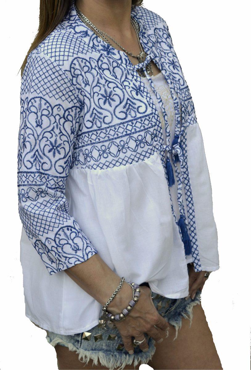 b8509dd389 saco saquito bordado mujer tipo hindu the big shop. Cargando zoom.
