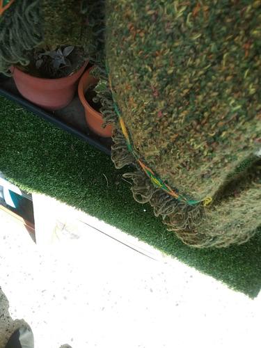 saco saquito tapado blazer telar divino impecable. floresta