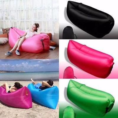 saco sofá dormir inflável descanso camping praia tipo laybag