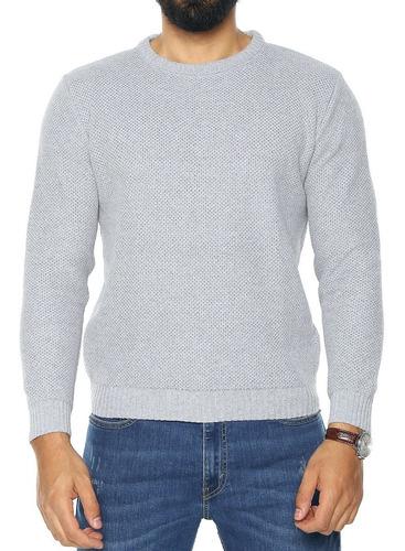 saco (sweater) buzo colmena cuello redond - shc-138 - smalto