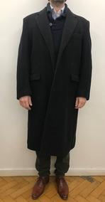 elige el más nuevo fotos oficiales Boutique en ligne Saco Tapado Abrigo Pana Hombre Gris Oscuro De Vestir